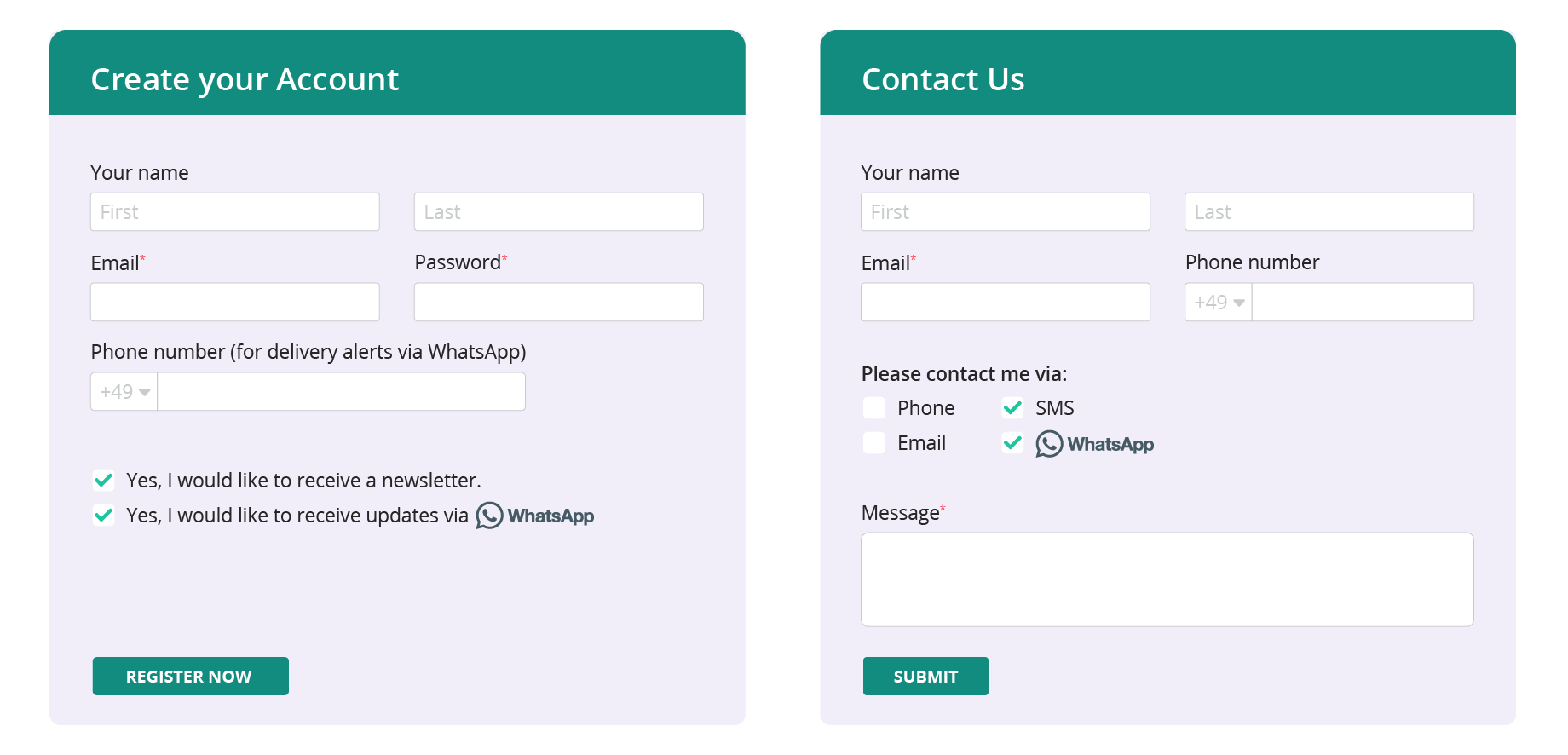 WhatsApp Registration | tyntec